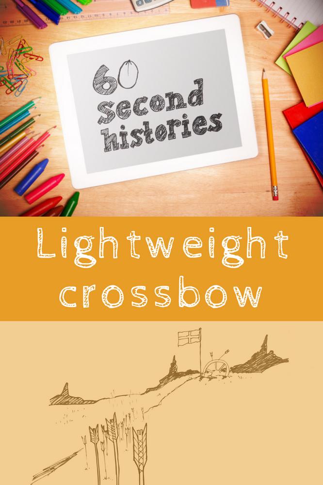 Medieval - Lightweight Crossbow (3-Day Rental)