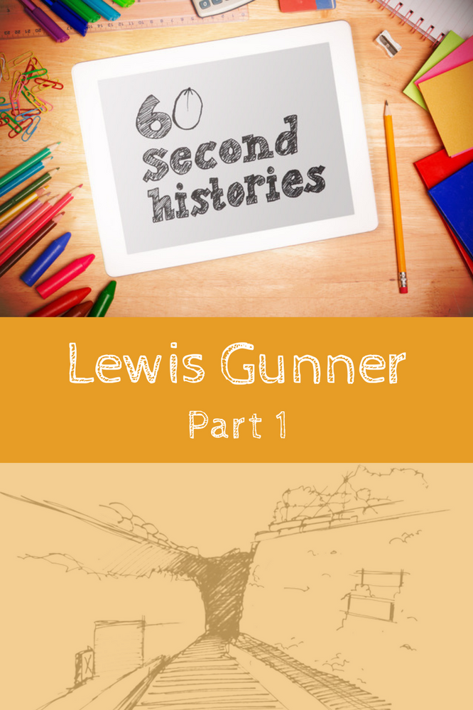 World War 1: Lewis Gunner - Part 1 (1-Year Rental)