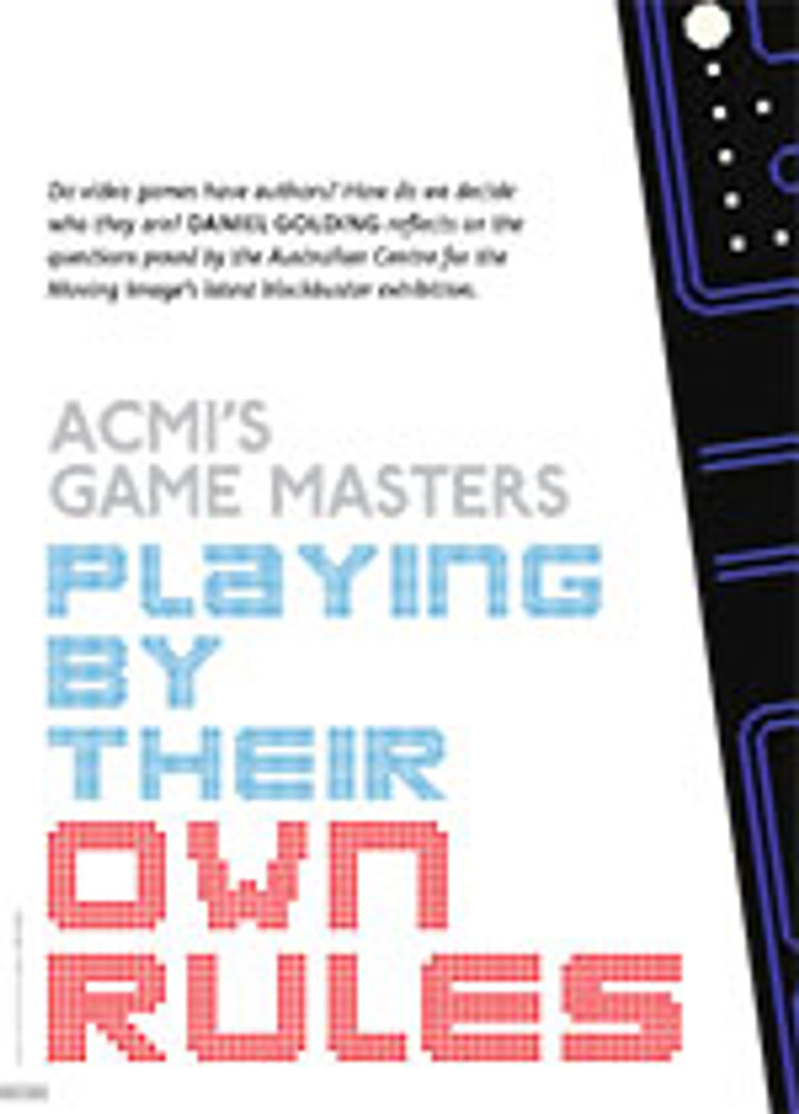 Playing by Their Own Rules: ACMI's Game Masters