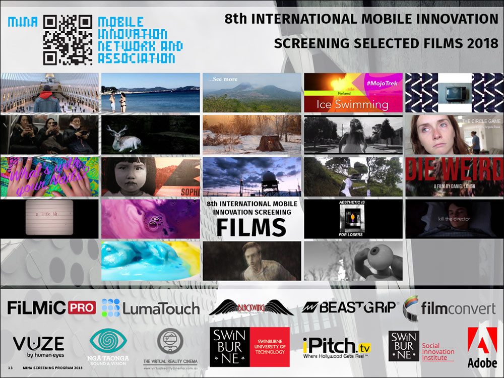 8th International Mobile Innovation Screening Program