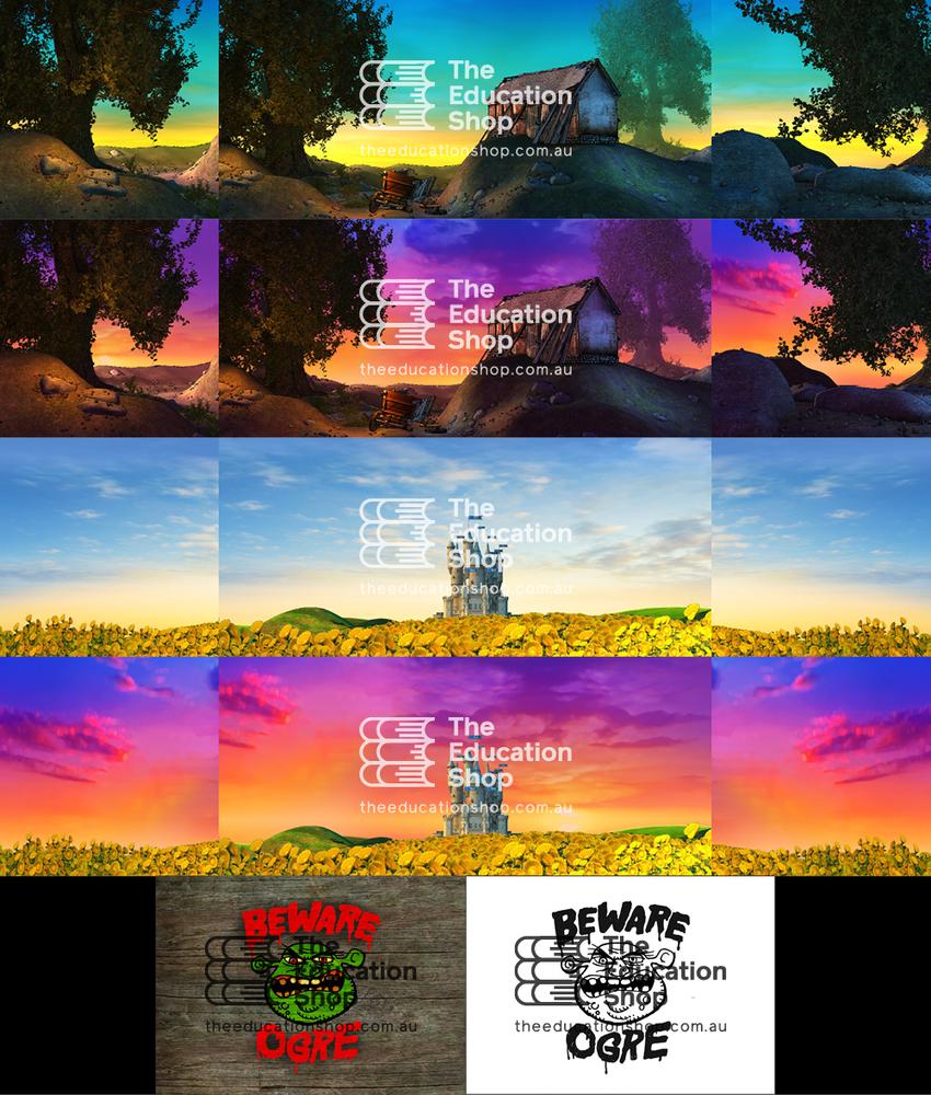 Musical Backdrop Artwork: Shrek