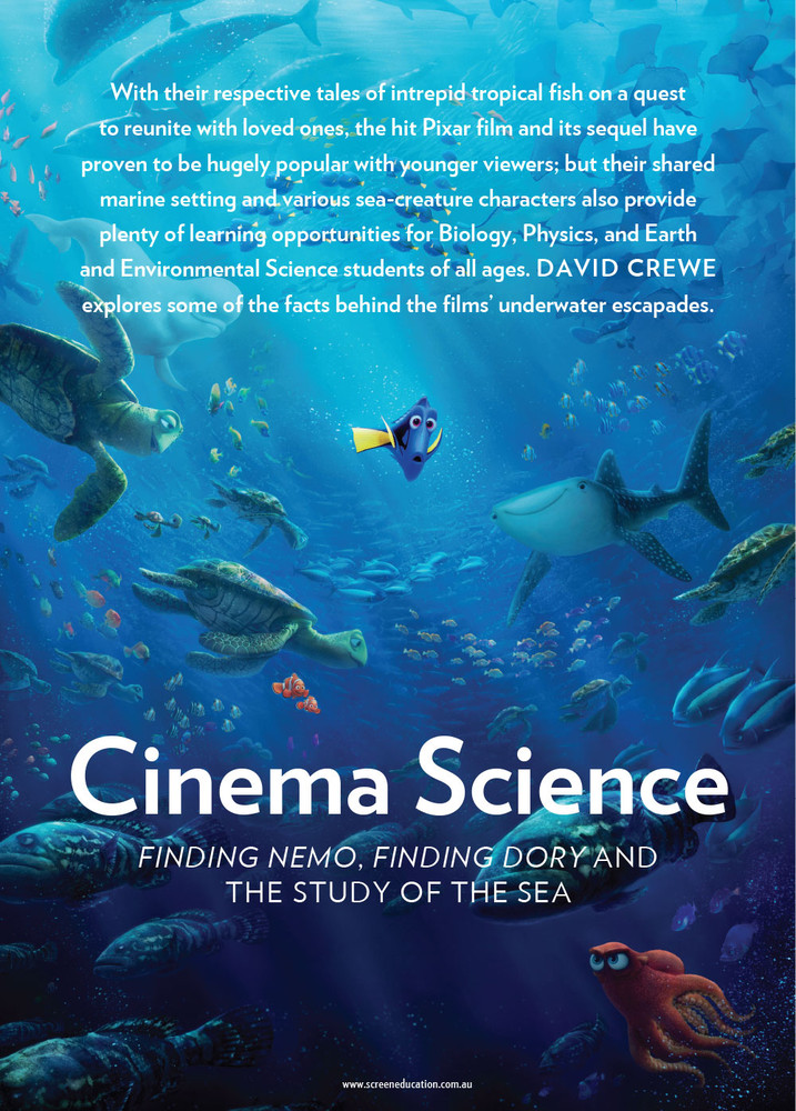 Cinema Science: 'Finding Nemo', 'Finding Dory' and the Study of the Sea