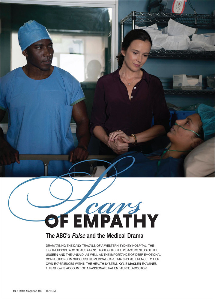 Scars of Empathy: The ABC's 'Pulse' and the Medical Drama