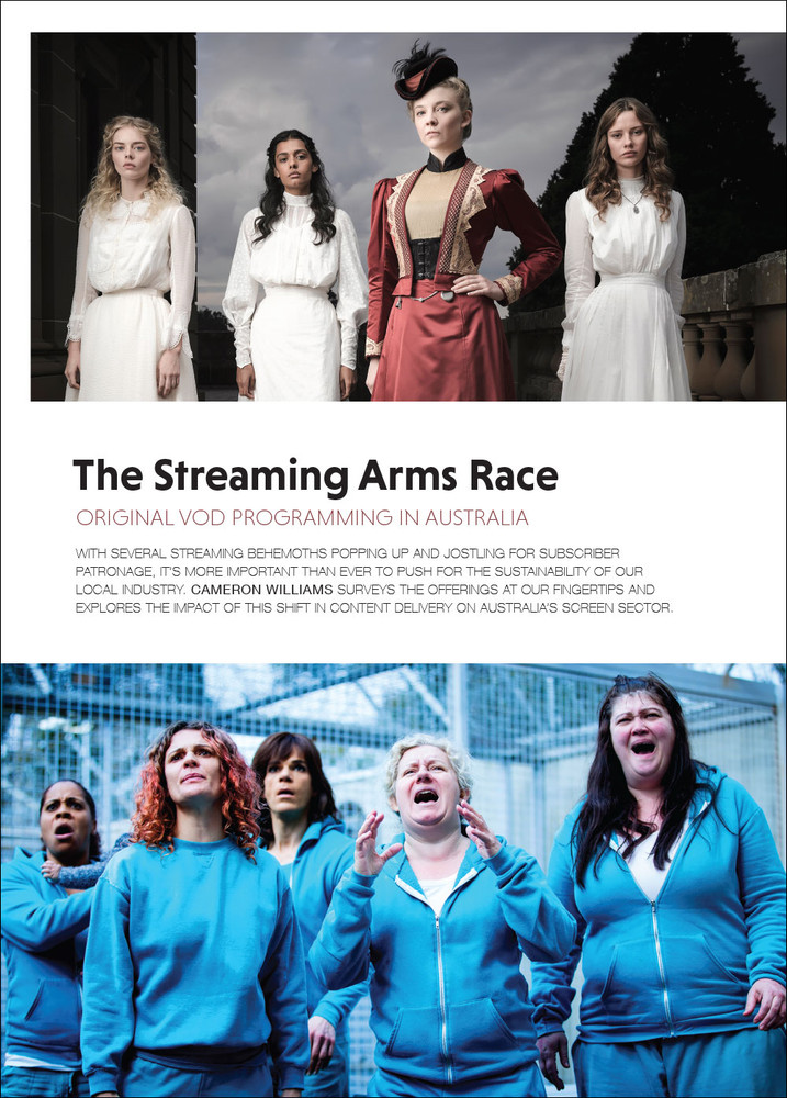 The Streaming Arms Race: Original VOD Programming in Australia