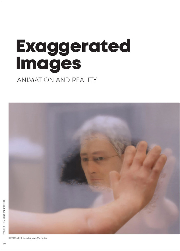 Exaggerated Images: Animation and Reality