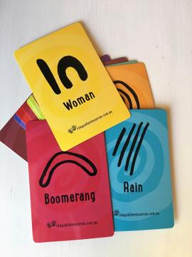 Flashcards (20 Indigenous Symbol Cards)