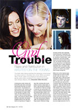 Girl Trouble: Rape and Retribution in <i>Wasted on the Young</i>