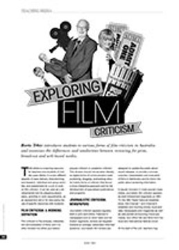 Exploring Film Criticism: A Learning Resource