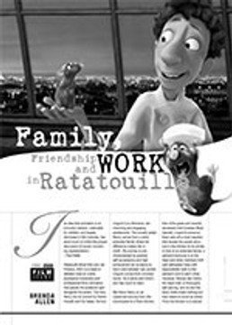 Family, Friendship and Work in <i>Ratatouille</i>