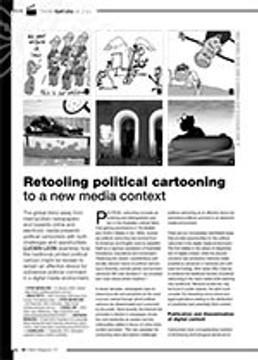 Retooling Political Cartooning to a New Media Context