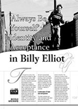 'Always Be Yourself': Identity and Acceptance in Billy Elliot