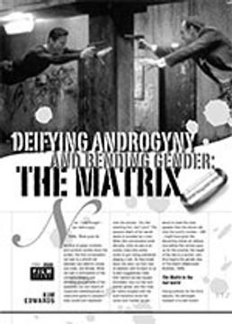 Deifying Androgyny and Bending Gender: <i>The Matrix</i>