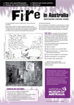 Bushfires ?Investigating a natural hazard