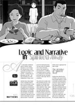 Logic and Narrative in <i>Spirited Away</i>