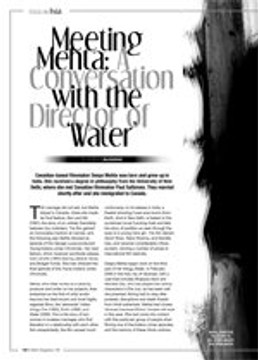 Meeting Mehta: A Conversation With the Director of <i>Water</i>