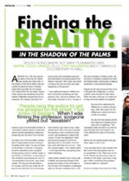 Finding the Reality: <i>In the Shadow of the Palms</i>