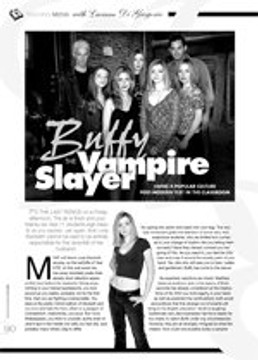 Buffy the Vampire Slayer: Using a Popular Culture Post-Modern Text in the Classroom