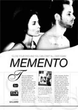Close Your Eyes and You can Start All Over Again: Memento