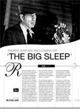 Smoking Guns and Smouldering Lips: The Big Sleep