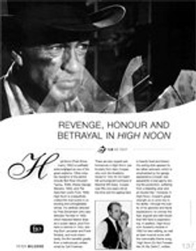 Revenge, Honour and Betrayal in High Noon