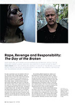 Rape, Revenge and Responsibility: <em>The Day of the Broken</em>