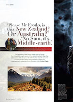 Please Mr Frodo, Is This New Zealand? Or Australia?' ?'No Sam, It's Middle-earth': Peter Jackson and the Appropriation of Tolkein's English Mythology