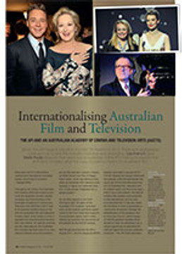Internationalising Australian Film and Television: The AFI and an Australian Academy of Cinema and Television Arts (AACTA)