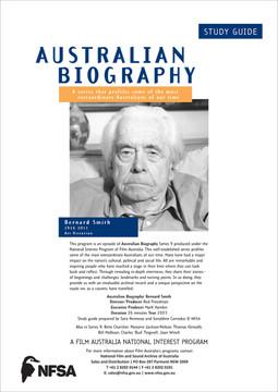 Australian Biography Series - Bernard Smith (Study Guide)