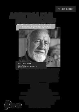 Australian Biography Series - Bill Mollison (Study Guide)