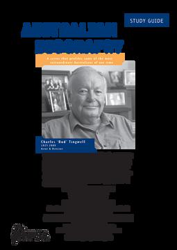 Australian Biography Series -  Charles 'Bud' Tingwell (Study Guide)