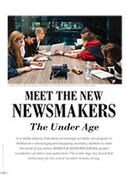 Meet the New Newsmakers: <i>The Under Age</i>