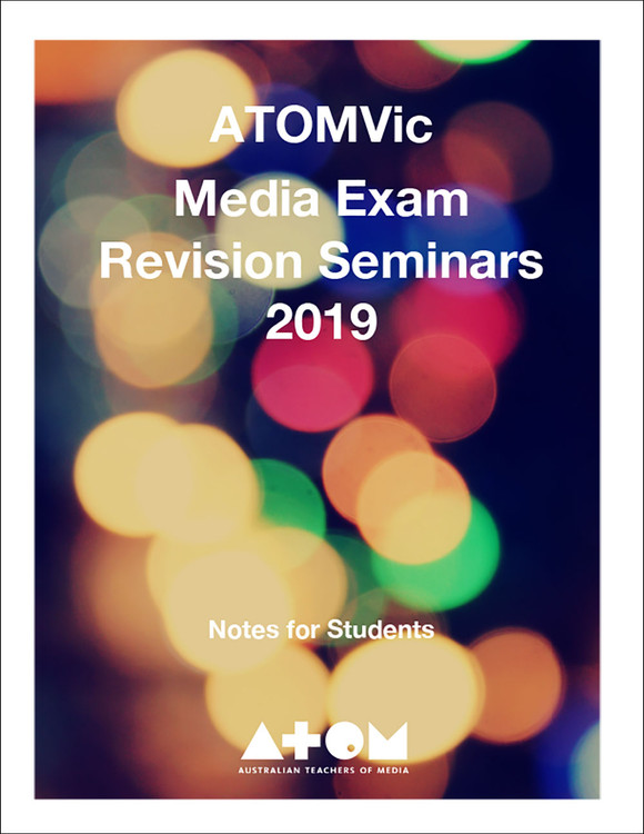 2019 ATOM VCE Media Units 3&4 Exam Revision Seminar (30-Day Rental)