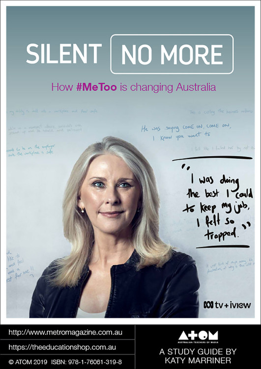 Silent No More: How #MeToo Is Changing Australia (ATOM Study Guide)