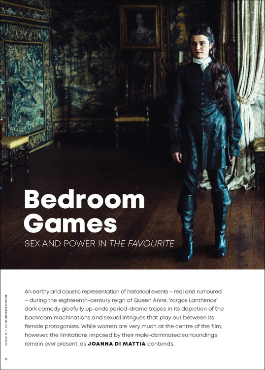 Bedroom Games: Sex and Power in 'The Favourite'