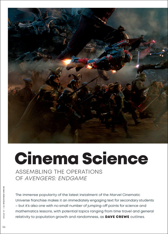 Cinema Science: Assembling the Operations of 'Avengers: Endgame'