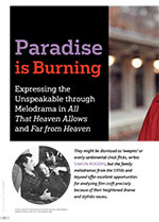 Paradise is Burning: Expressing the Unspeakable through Melodrama in <i>All That Heaven Allows</i> and <i>Far from Heaven</i>