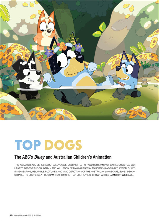 Top Dogs: The ABC's 'Bluey' and Australian Children's Animation