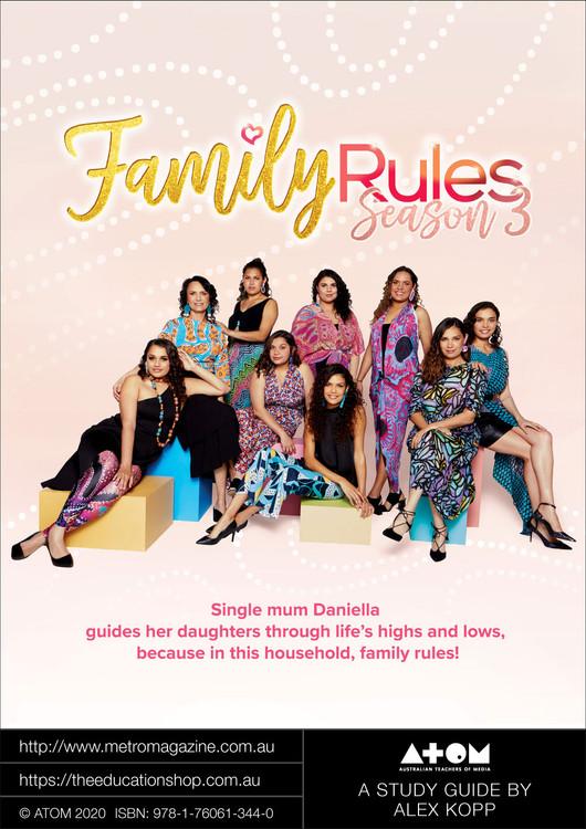Family Rules - Season 3 (ATOM Study Guide)