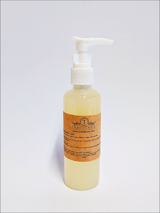 Scented Antiseptic Gel Sanitiser (100 mL with pump)