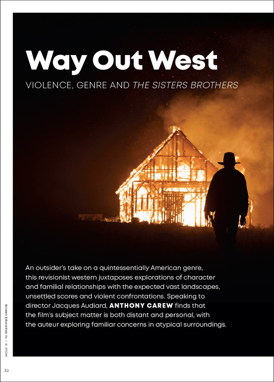 Way Out West: Violence, Genre and 'The Sisters Brothers'