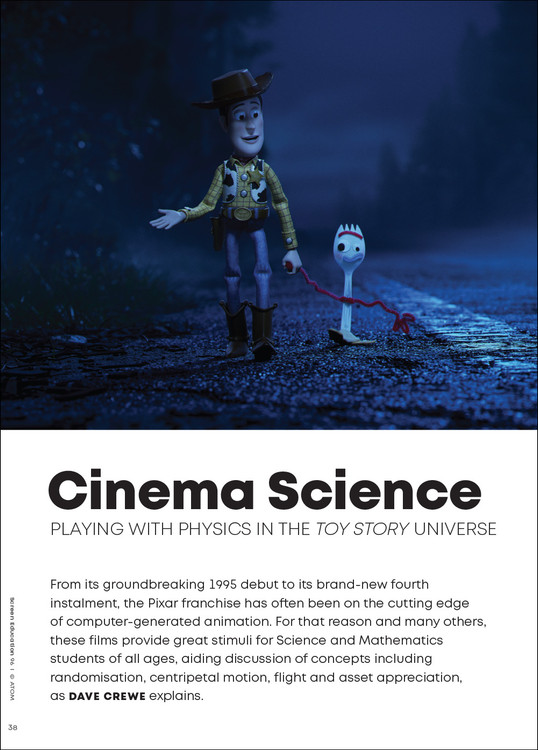 Cinema Science: Playing with Physics in the 'Toy Story' Universe