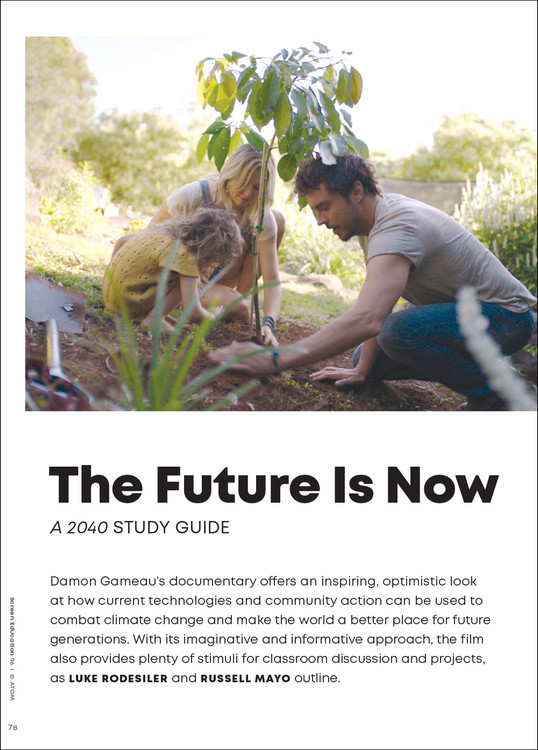 The Future Is Now: A '2040' Study Guide