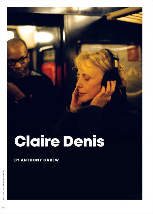 Filmmaker Profile: Claire Denis