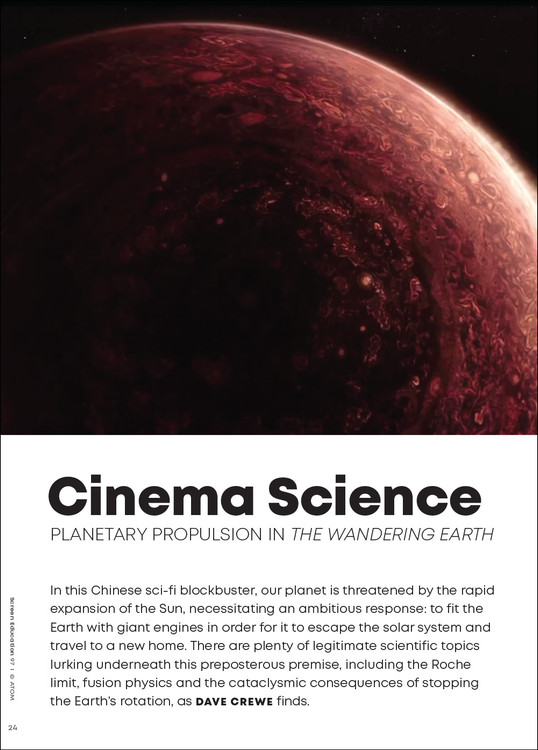 Cinema Science: Planetary Propulsion in 'The Wandering Earth'