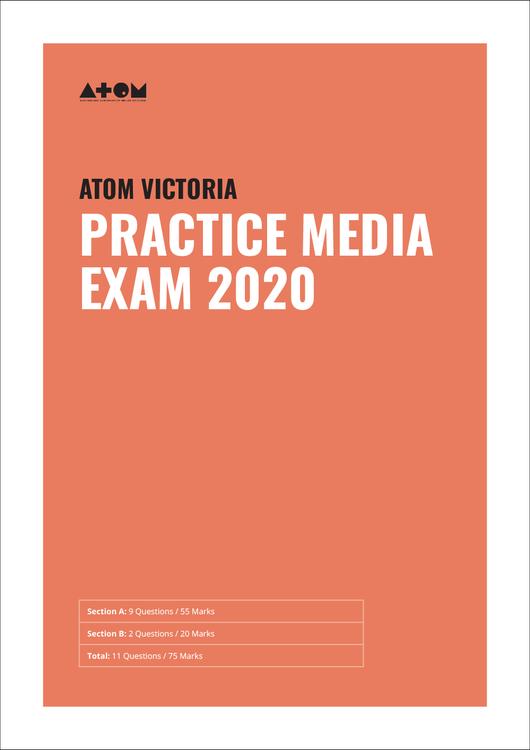 2020 ATOM Media Practice Exam