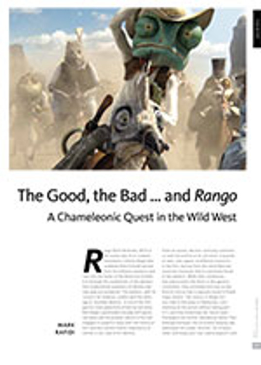 The Good, the Bad ?and <i>Rango</i>: A Chameleonic Quest in the Wild West