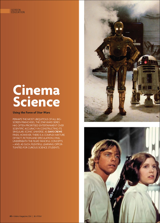 Cinema Science: Using the Force of 'Star Wars'