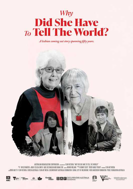 Why Did She Have to Tell the World? (1-Year Rental)