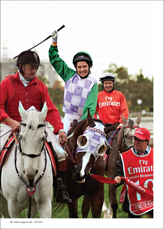 Australian Mythology: The Selective Celebration of Rachel Griffiths' 'Ride Like a Girl'