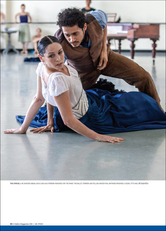 Bodies in Tension: Movement and Friction in Rebecca Tansley's 'The Heart Dances – The Journey of The Piano: the ballet'